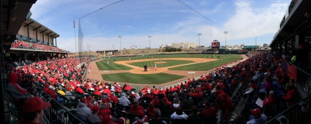 The average attendance for Nebraska this season ranks 20th at 2,783 a game at Hawks Field.