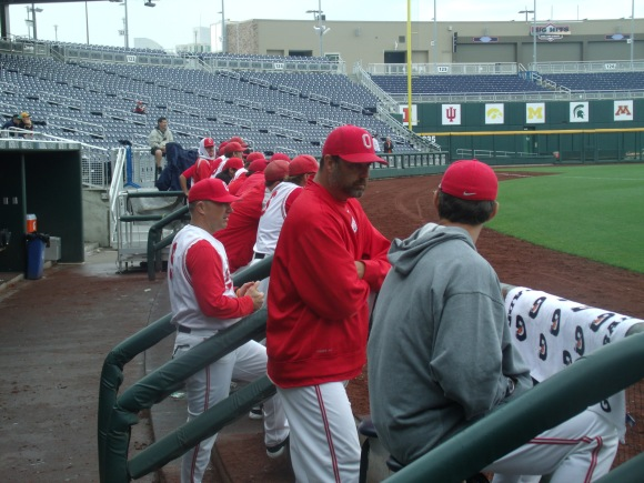 Ohio State pitching coach Mike Stafford will have an in-state southpaw to instruct in Michael McDonough.