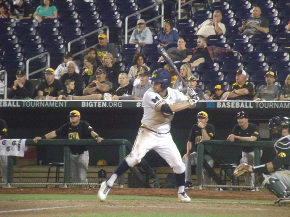 Michigan junior shortstop Travis Maezes returned to the Wolverine lineup over the weekend.