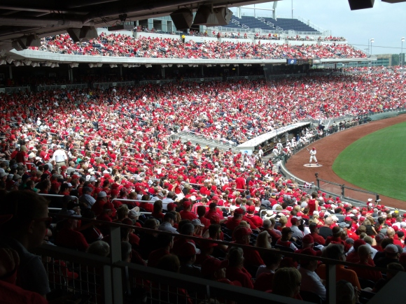 19,965 in attendance, a sea of red made Sunday's championship game unforgettable.