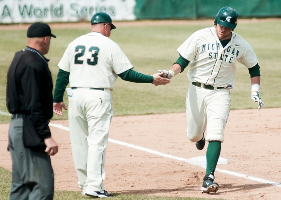 Salter returns to Michigan State after a strong summer in New England. (The State News)