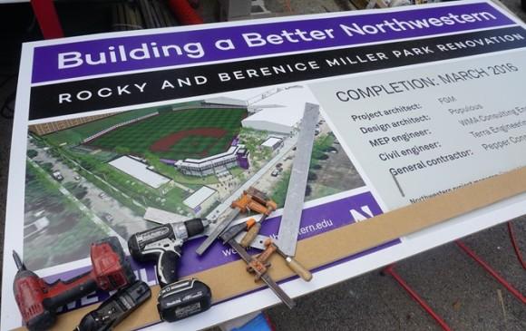 Northwesten University unveiled details of the new Rocky Miller Park. (Northwestern Athletics)