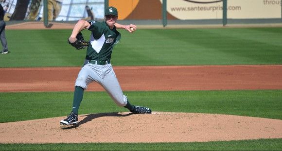Michigan State junior left-hander Cam Vieaux will begin a professional career with the Pittsburgh Pirates.